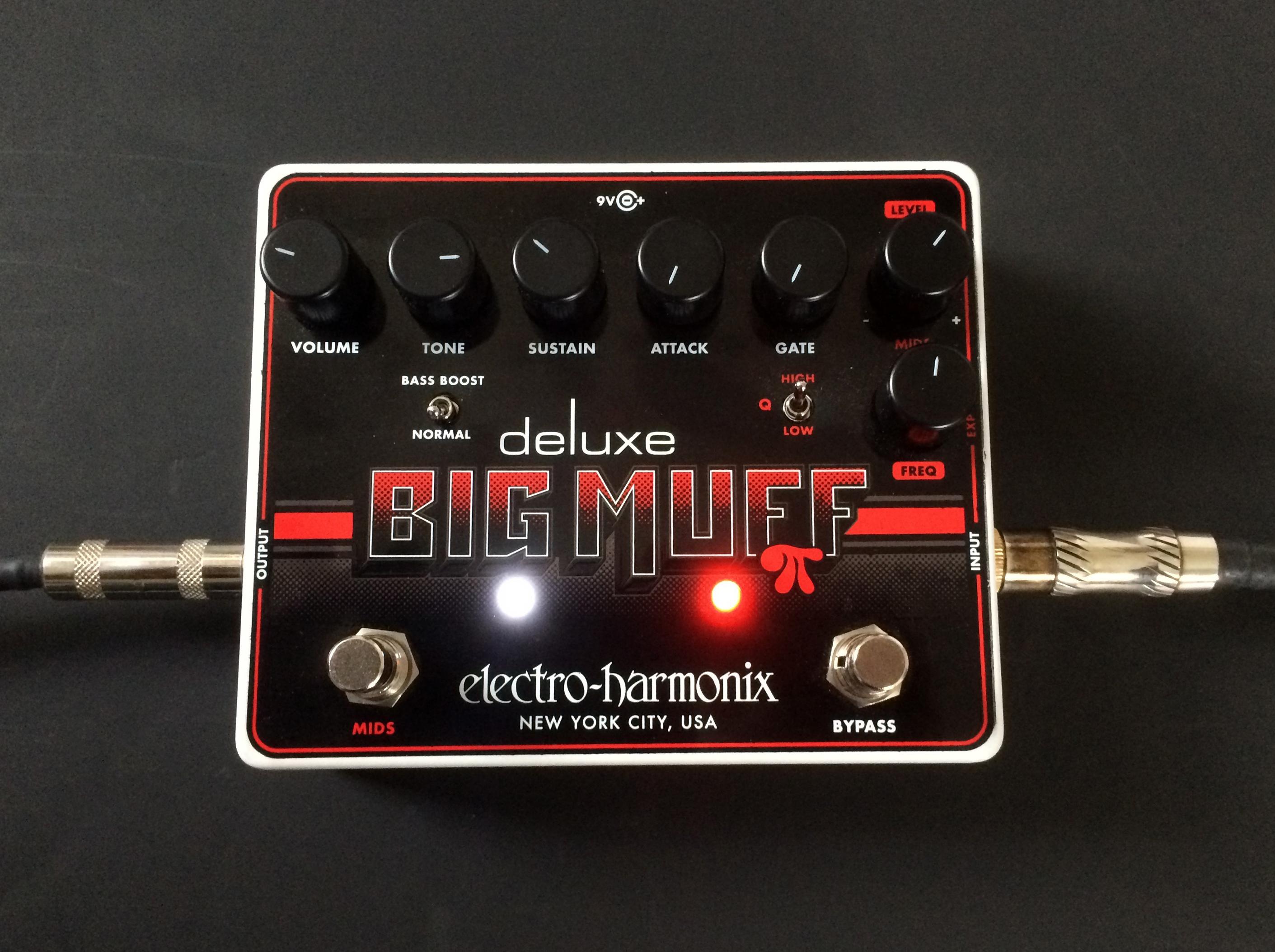 Deluxe Big Muff Pi : review of the electro harmonix deluxe big muff pi audiofanzine ~ Russianpoet.info Haus und Dekorationen