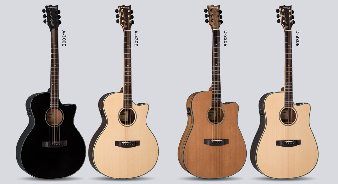 esp debuts tombstone brand of acoustic electric guitars and basses at namm 2015 audiofanzine. Black Bedroom Furniture Sets. Home Design Ideas