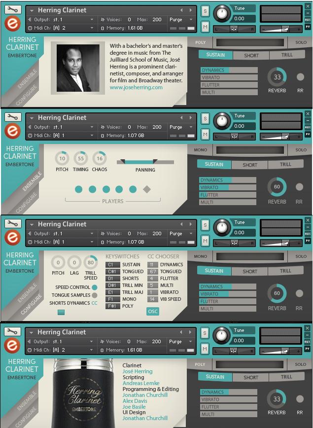 Embertone Herring Clarinet sample library for Kontakt 5 - Audiofanzine