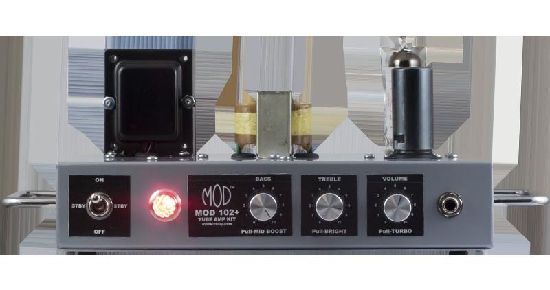 Kit d'amplificateur guitare à lampes Mod Kits DIY MOD102 ...