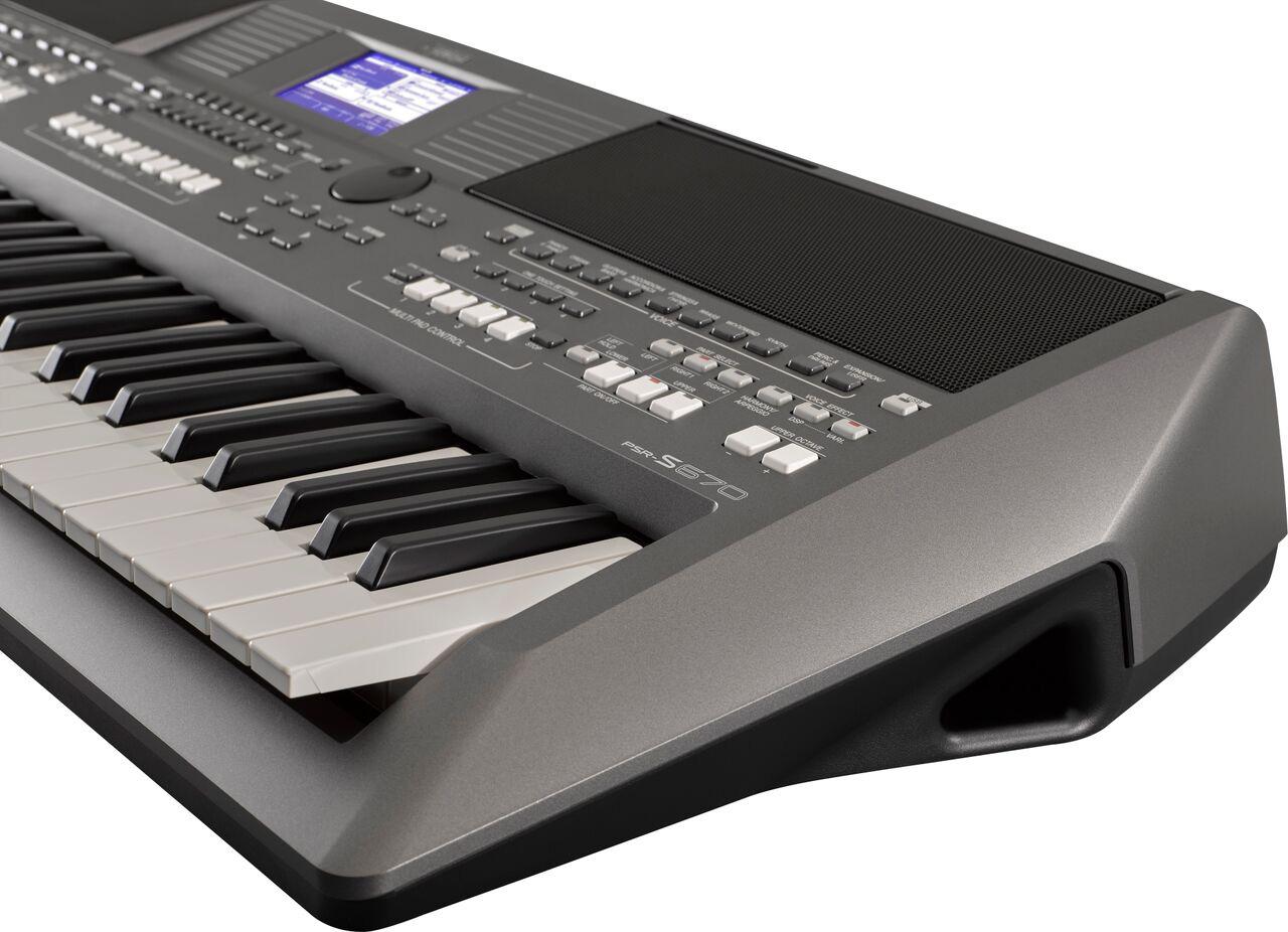 New Yamaha PSR-S670, PSR-S770 and PSR-S970 arranger keyboards