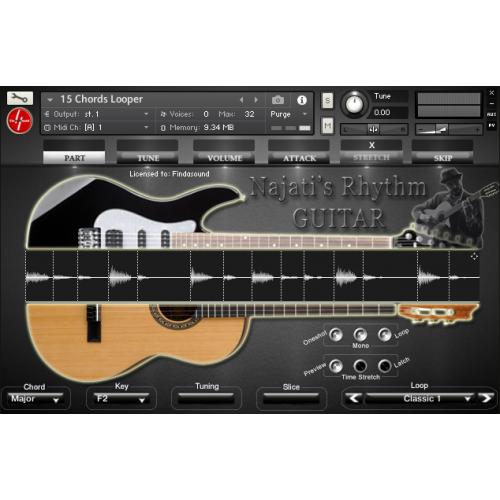 guitare electrique kontakt
