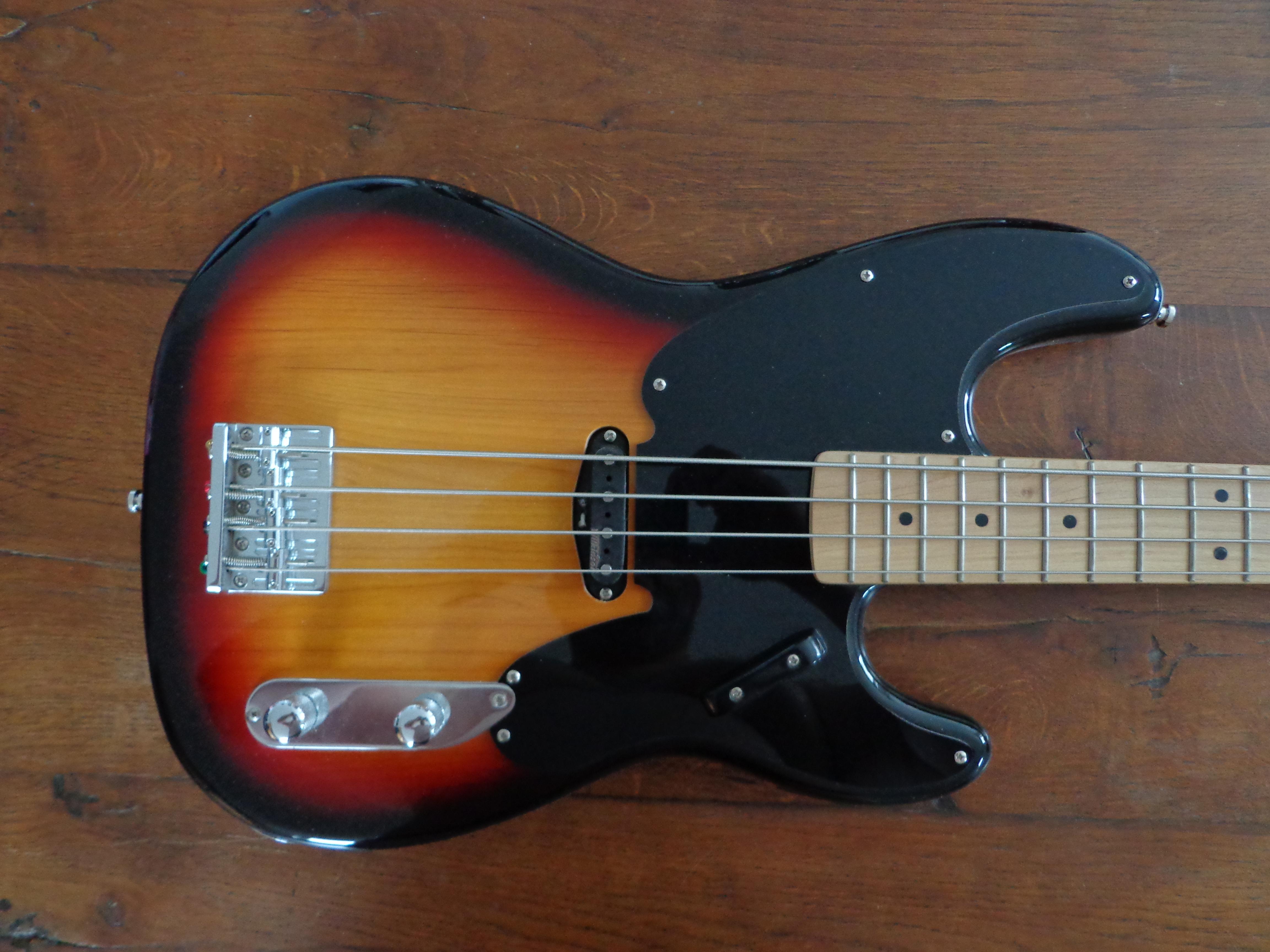 basse harley benton pb 50 sb sunburst 34 vend basse. Black Bedroom Furniture Sets. Home Design Ideas