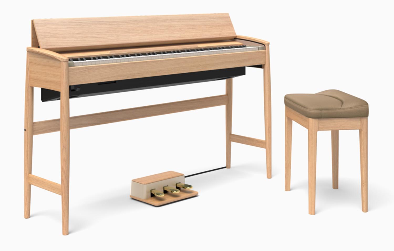 news roland crée un piano numérique design - audiofanzine - Designer De Meuble