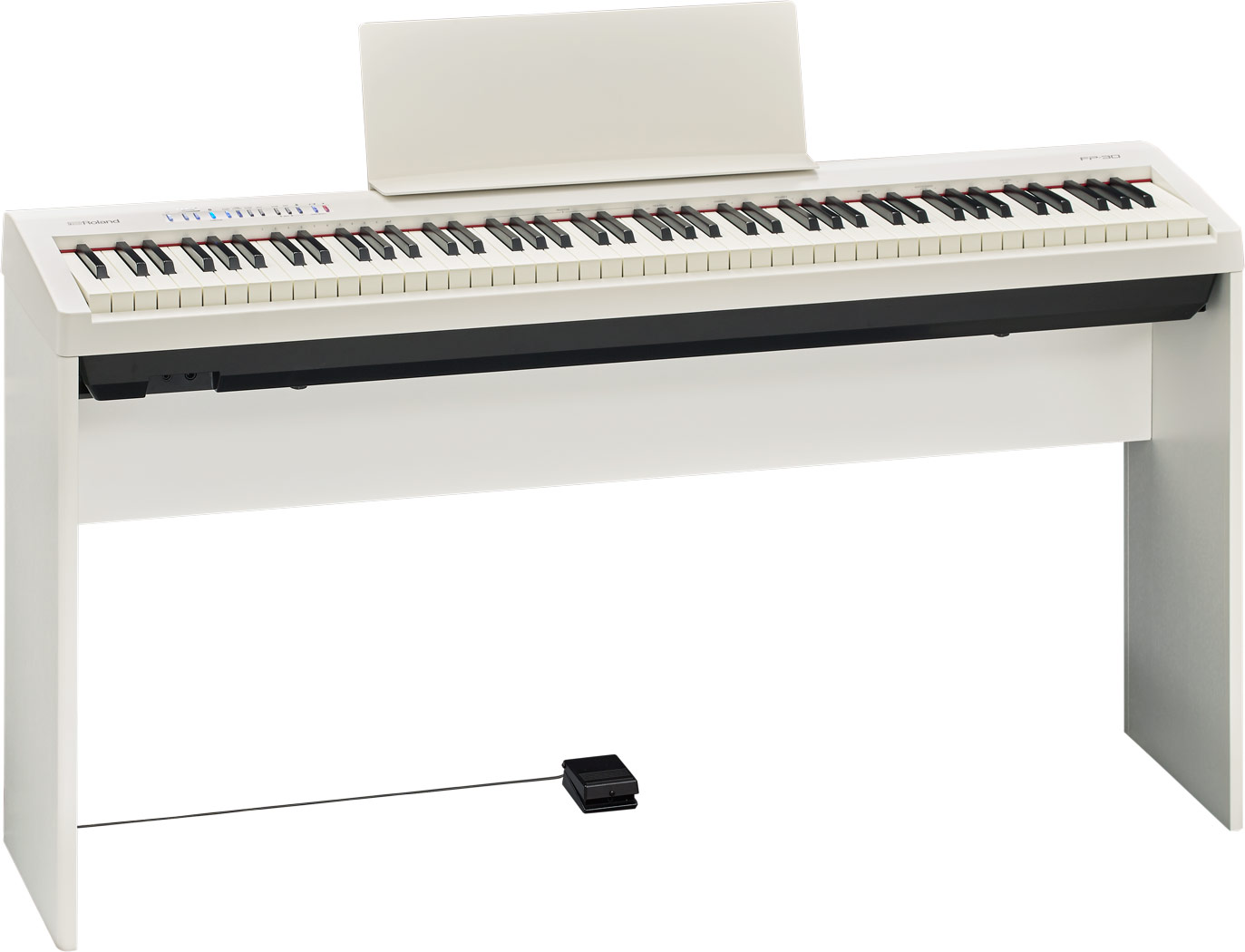 namm roland announces fp 30 digital piano news. Black Bedroom Furniture Sets. Home Design Ideas