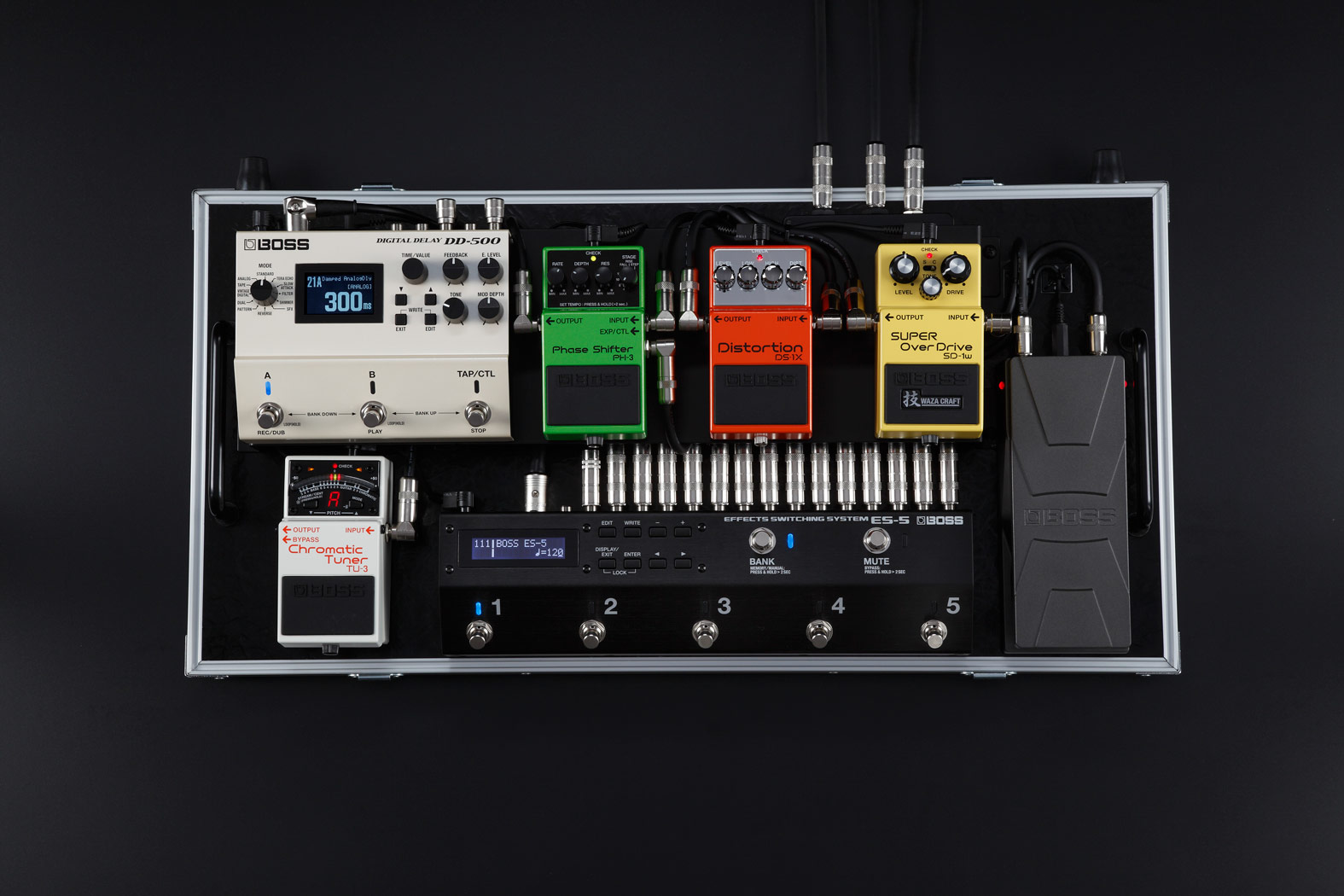 Namm Boss Presents Es 5 Effects Switching System News