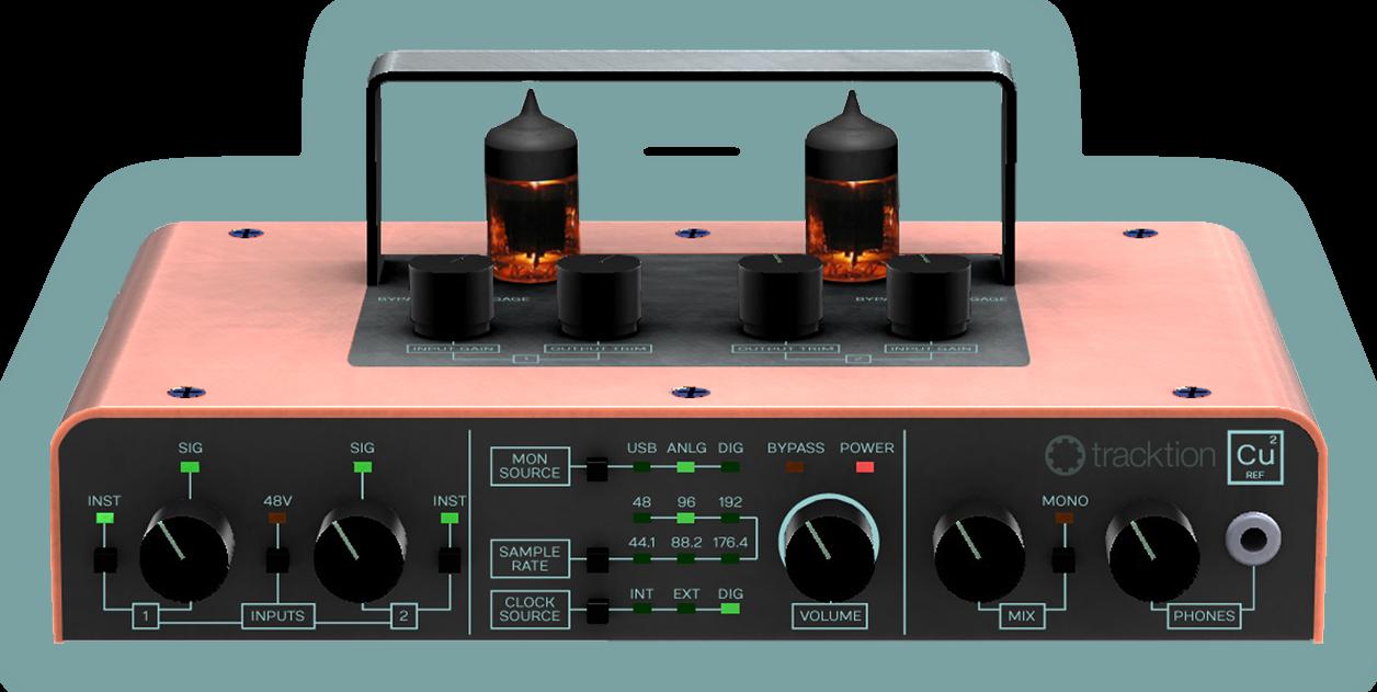 namm a tracktion tube based audio interface audiofanzine. Black Bedroom Furniture Sets. Home Design Ideas
