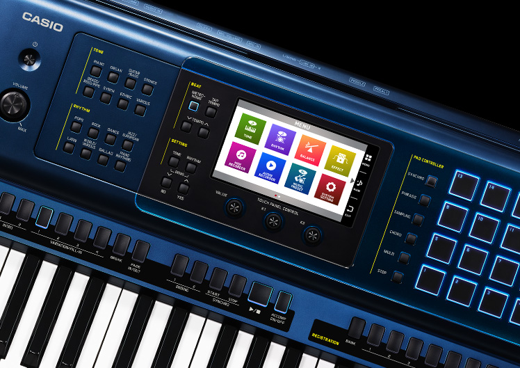 1e992fbd23a7 NAMM  Casio introduces MZ-X300   MZ-X500 - Audiofanzine