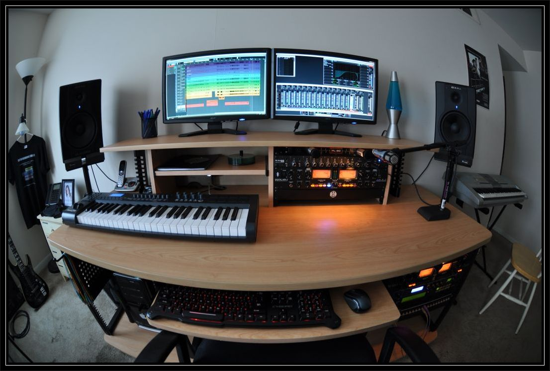 home studio desk design. Music Studio Design Ideas  Interior Best Home Images