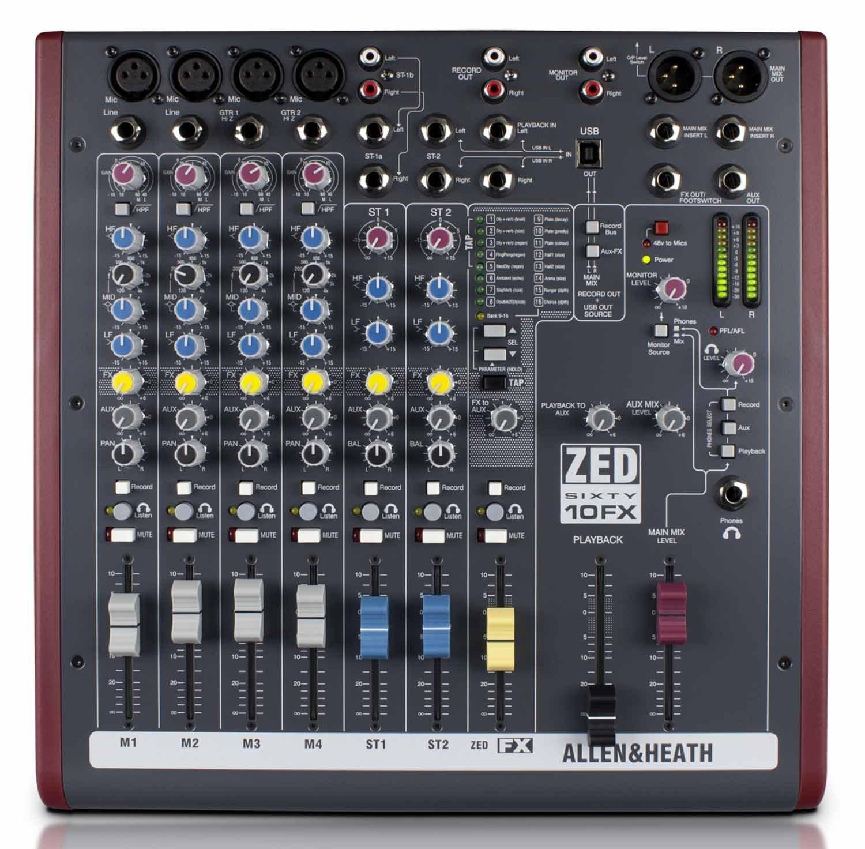 table de mixage pour s'enregistrer