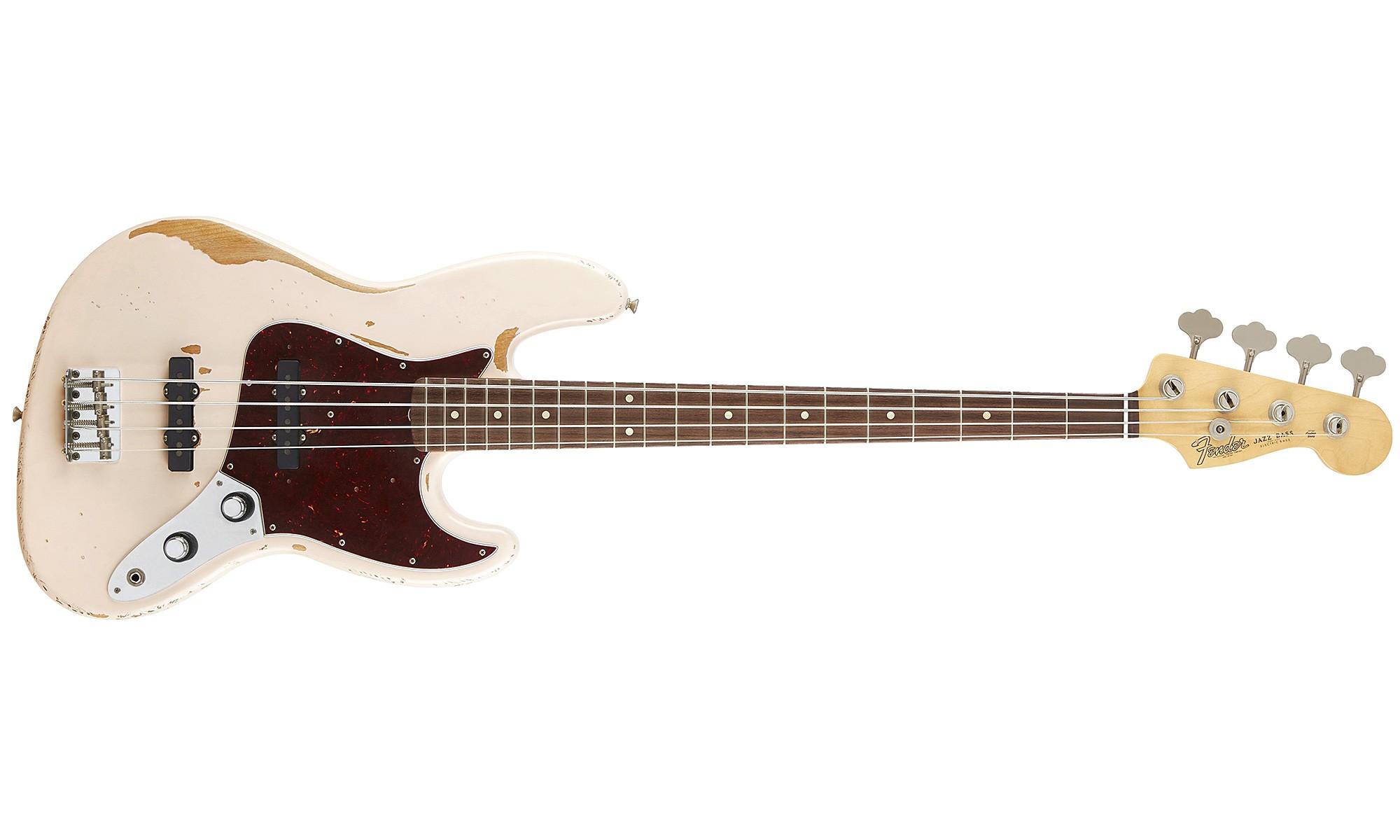 Une Basse 233 Lectrique Jazz Bass Signature Flea Chez Fender