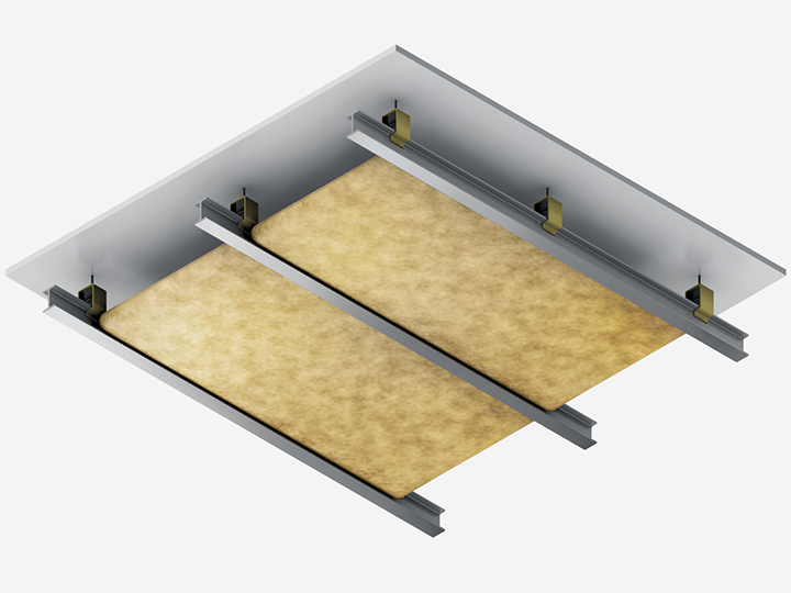 Excellent Schema Plafond A Comp Etape With Isolation Phonique Plafond Prix  M2