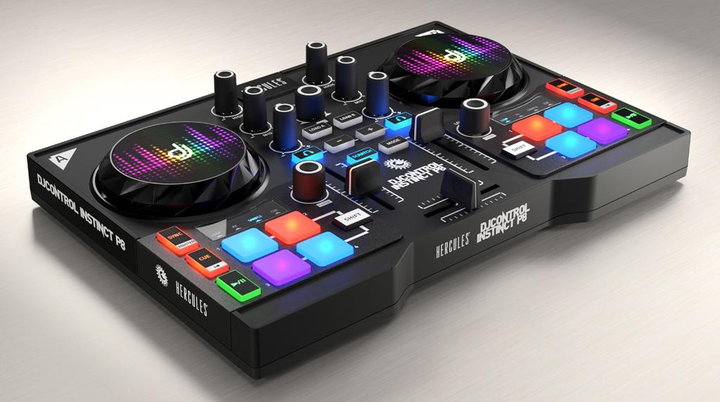 table de mixage hercules dj control instinct