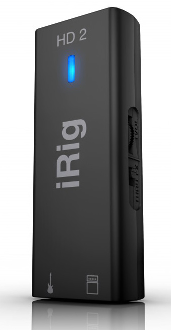how to connect irig hd 2 to mac
