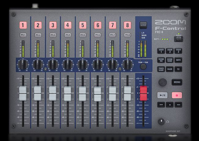 Zoom f control frc 8 surface de contr le et table de - Table de mixage virtuel gratuit en francais ...