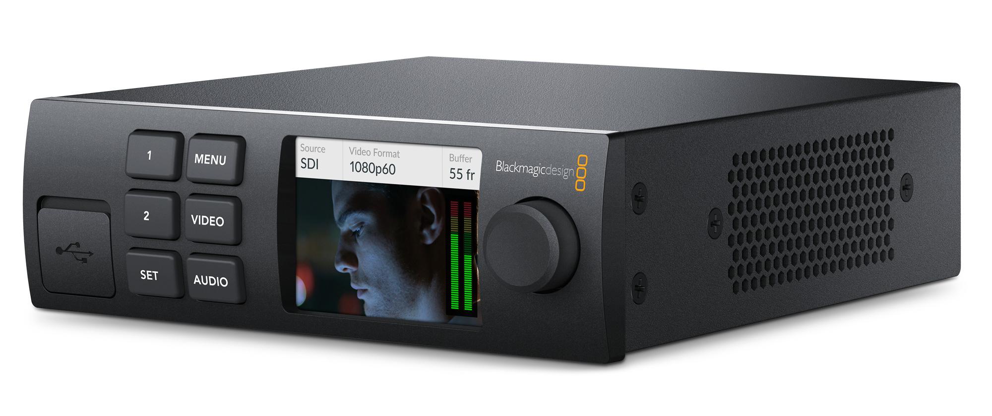 Interface Audio Et Vid 233 O Thunderbolt 3 Blackmagic Design