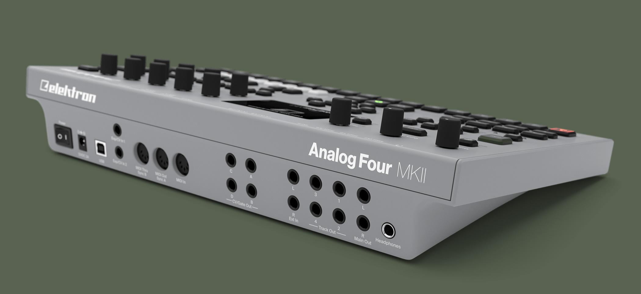 elektron am u00e9liore le synth u00e9tiseur analogique analog four