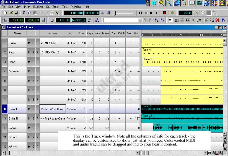 Cakewalk - The World's Best Software For Recording And ...