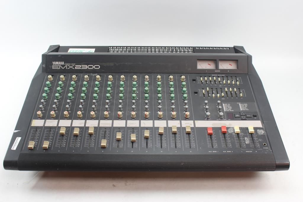 Vends table de mixage amplifi e emx2300 centre audiofanzine - Table de mixage amplifiee yamaha ...