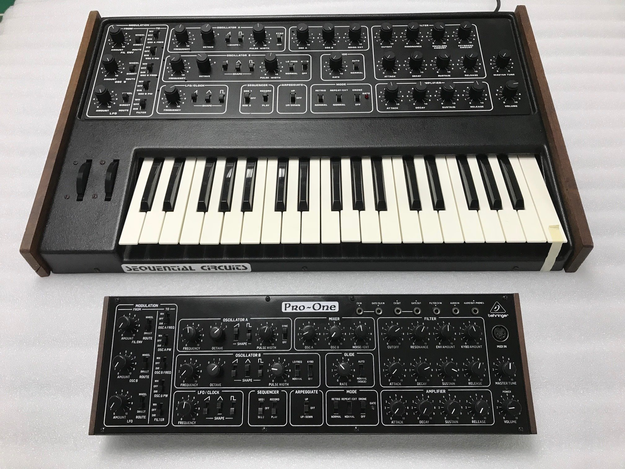 behringer clone le synth u00e9tiseur analogique sequential