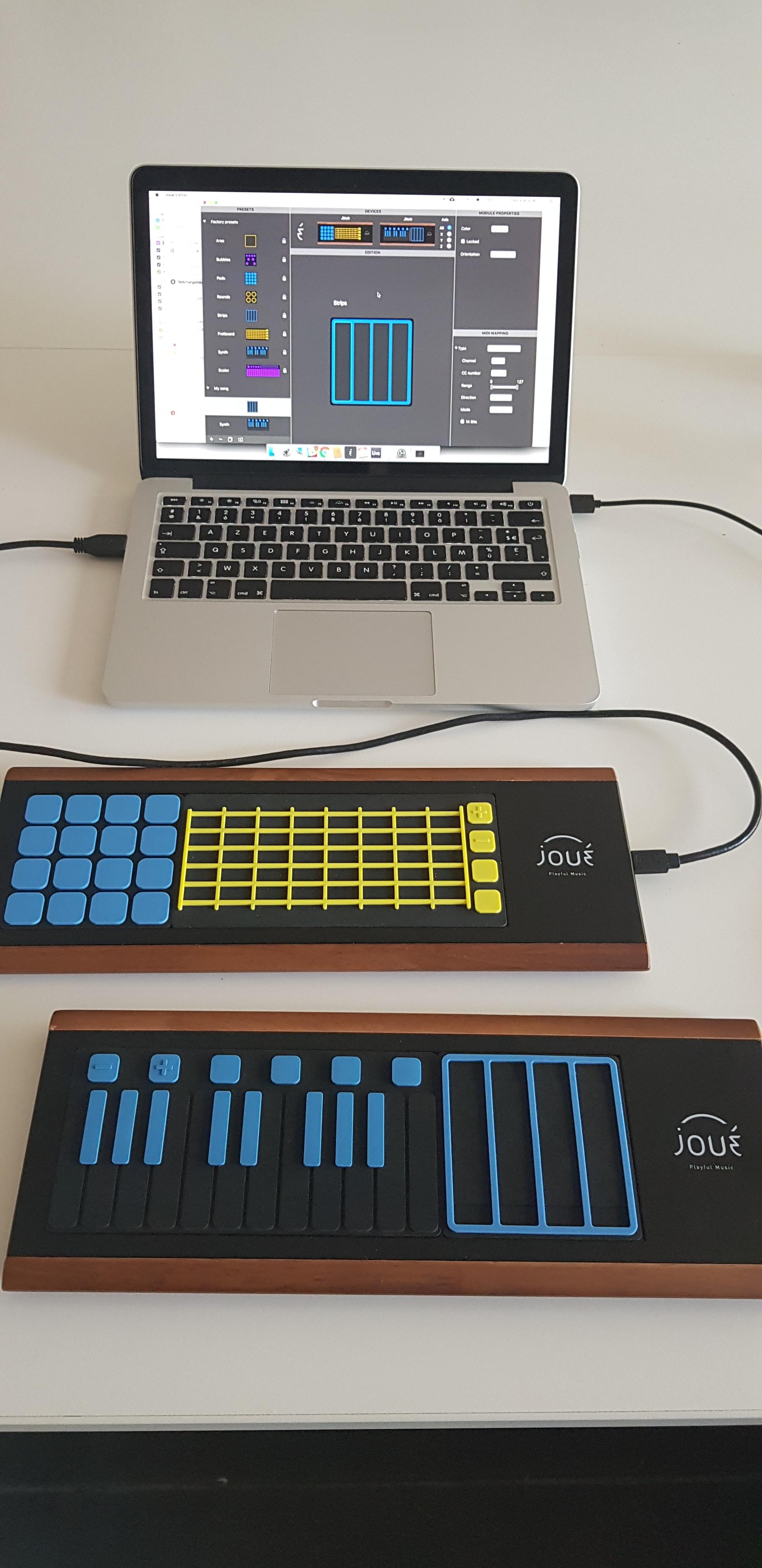 2 Joué on a computer