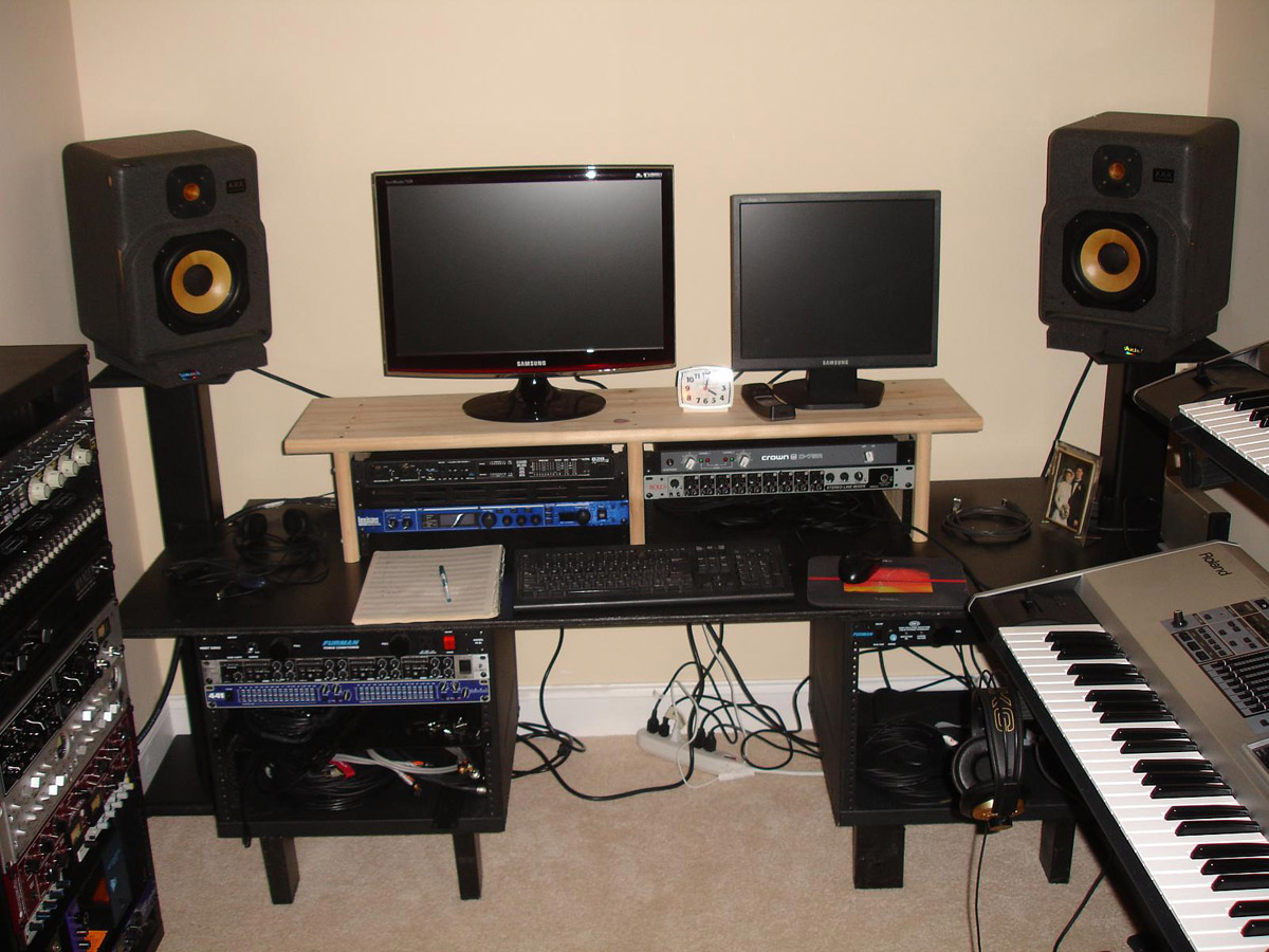 Fantastic How To Position Studio Monitors Audiofanzine Inspirational Interior Design Netriciaus