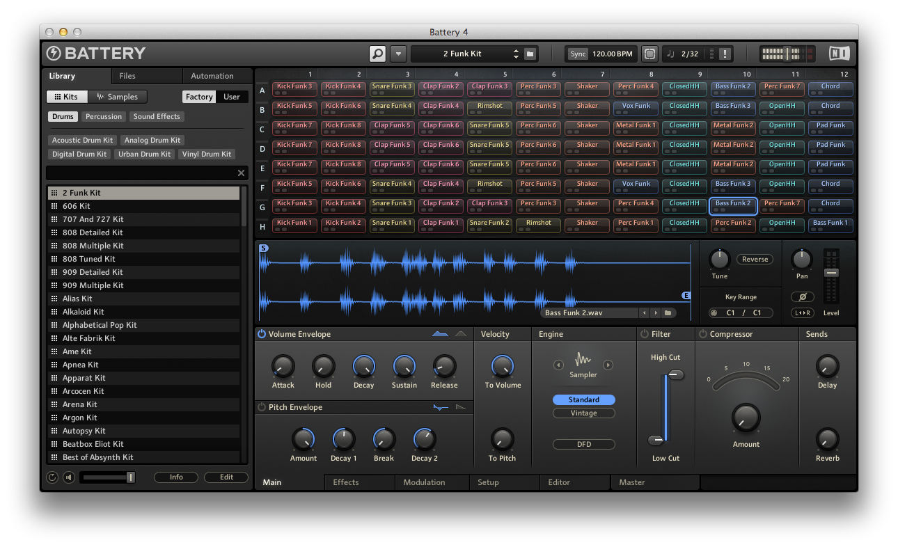 Native instruments battery 4 factory library v1.0.1 update