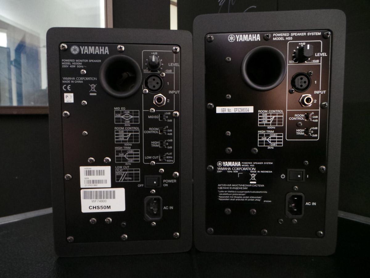 Les nouvelles yamaha hs on les a vues et cout es for Yamaha hs50m review