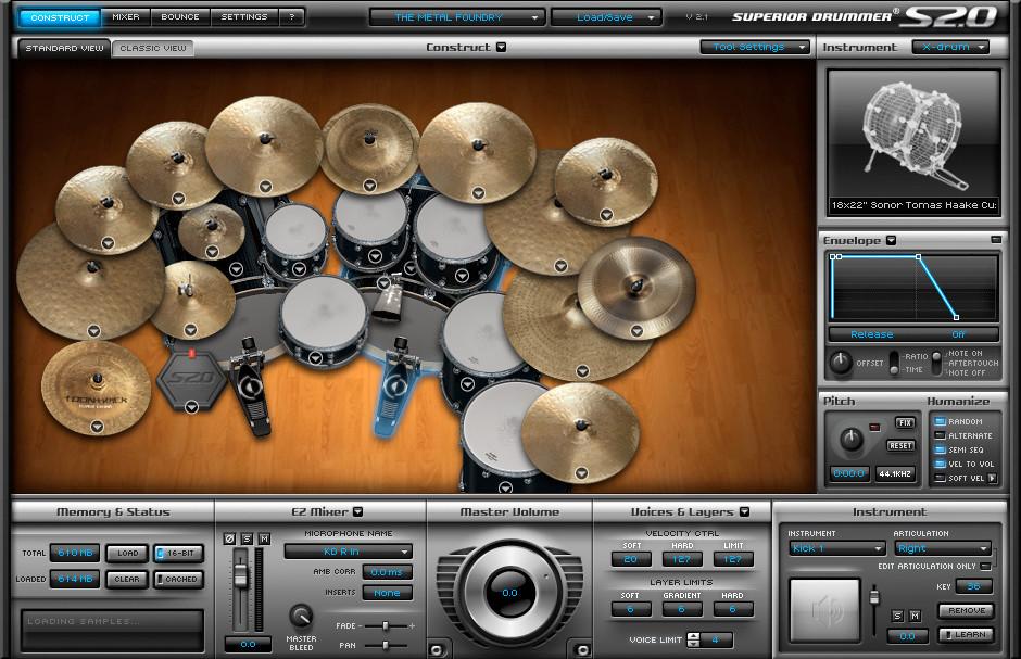 The Best Drum Vst Plug Ins Audiofanzine