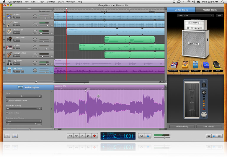 Result of How To Remix A Song In Garageband – My Sweet Home