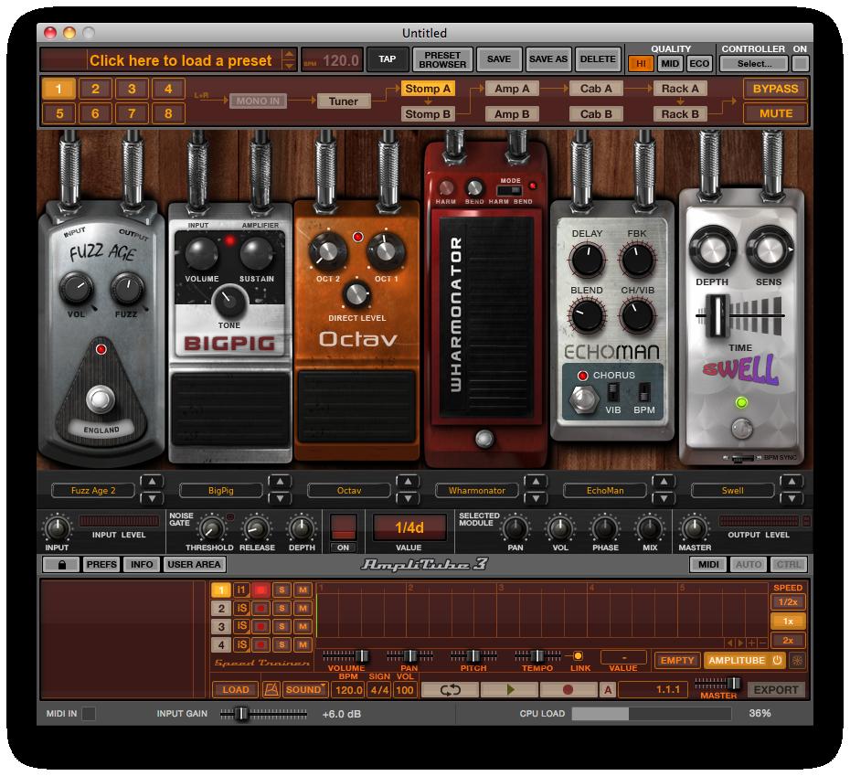 the top guitar amp simulation plugins audiofanzine rh en audiofanzine com AmpliTube 3 Guitar Record manual amplitube 3 español pdf