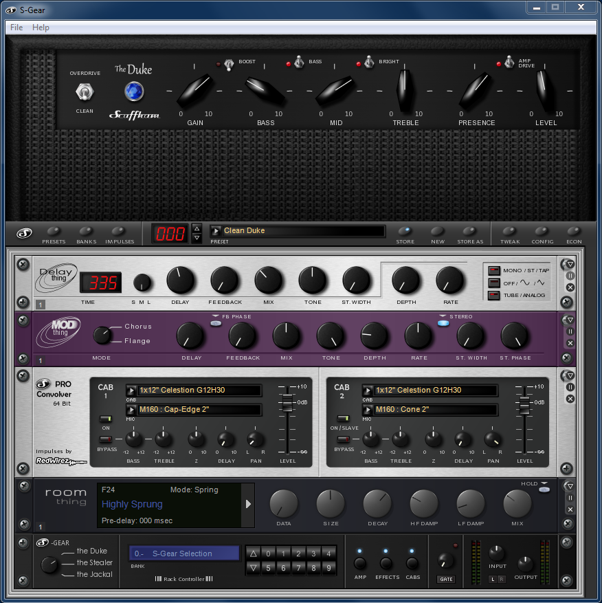 the top guitar amp simulation plugins audiofanzine. Black Bedroom Furniture Sets. Home Design Ideas