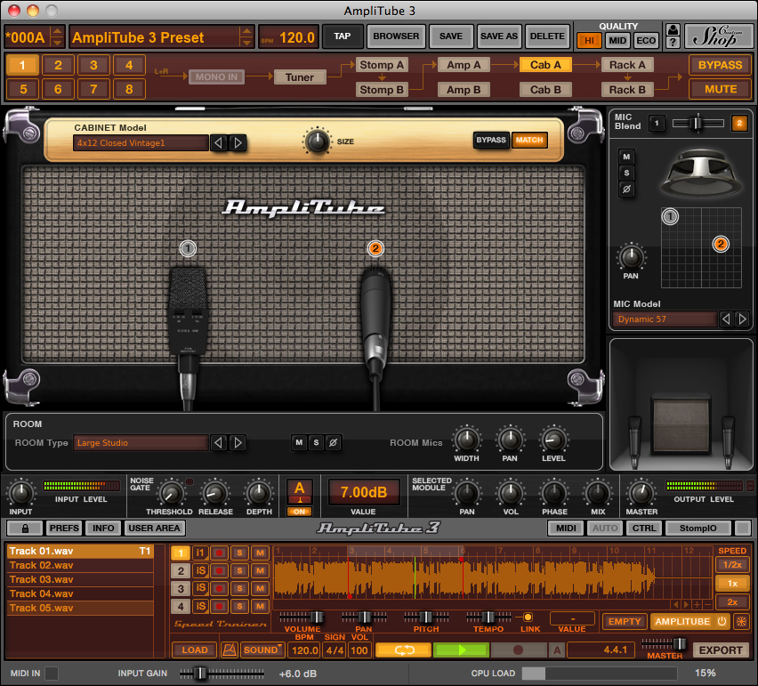 the best free guitar amp simulation plugins audiofanzine. Black Bedroom Furniture Sets. Home Design Ideas