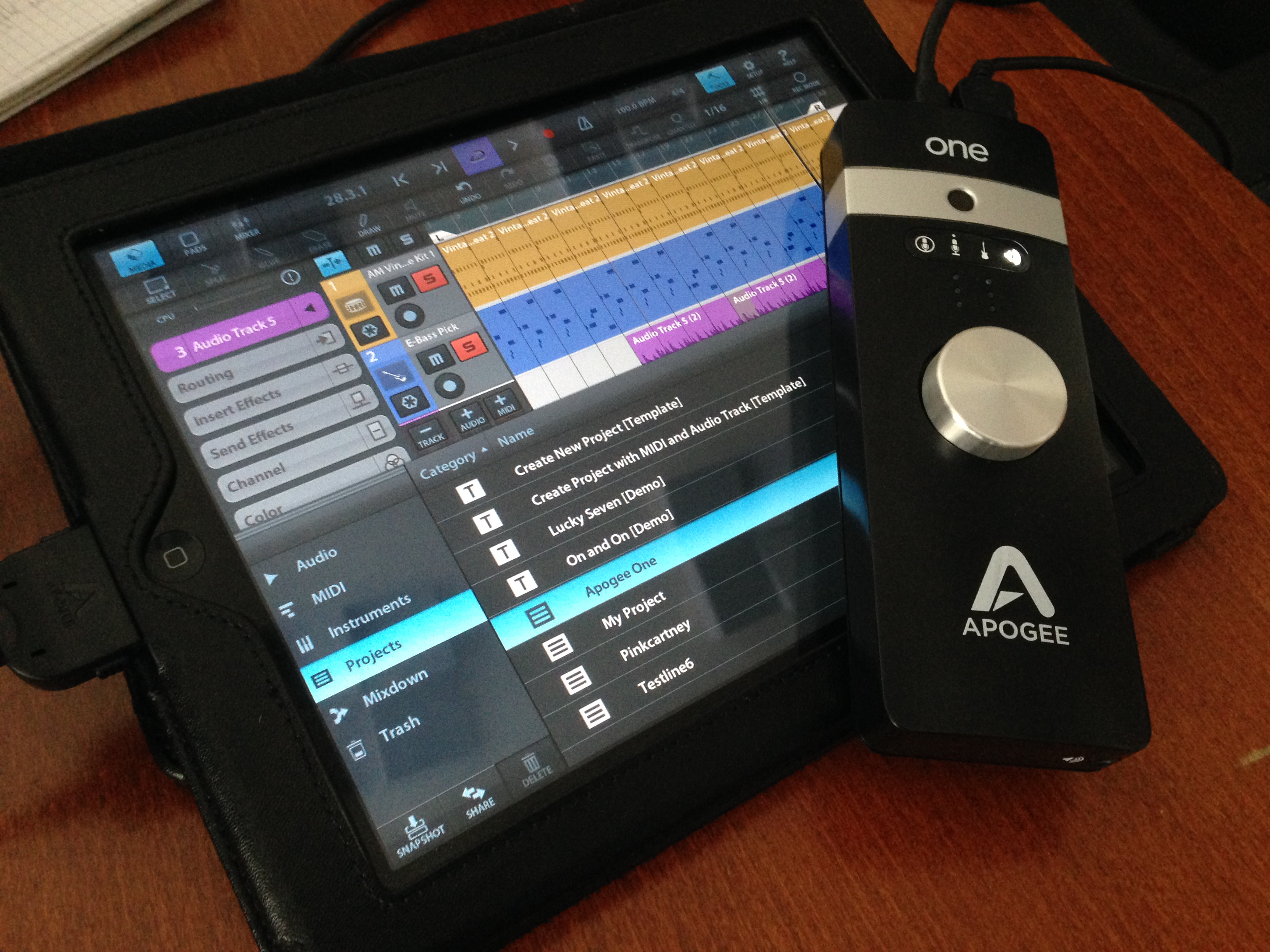 Review Garageband Ipad