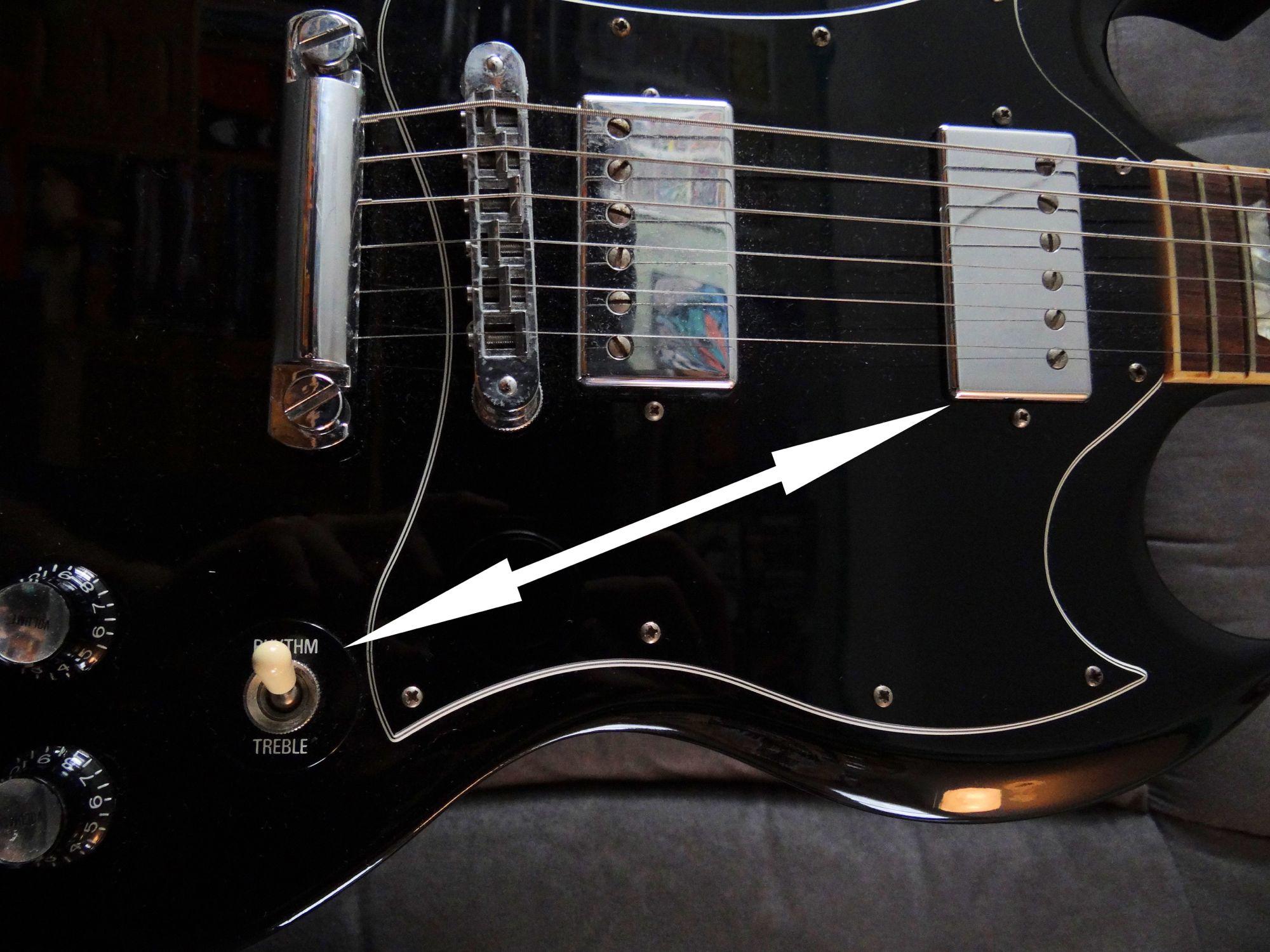 how to adjust guitar knobs audiofanzine. Black Bedroom Furniture Sets. Home Design Ideas