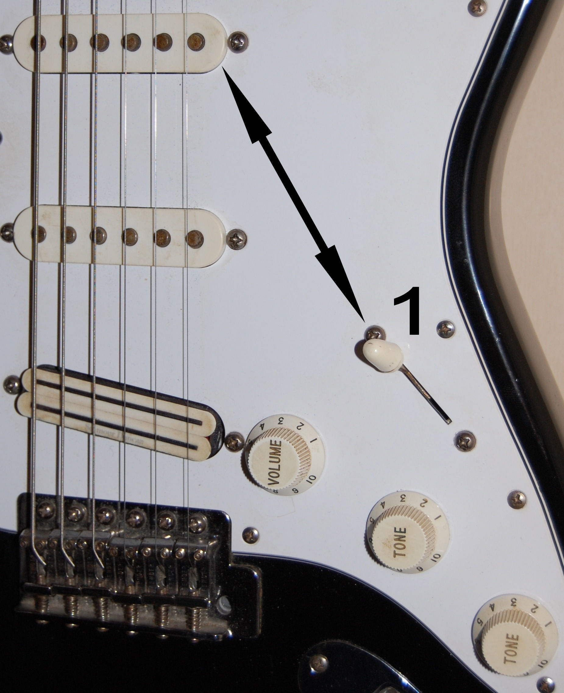 How To Adjust Guitar Knobs Audiofanzine Electric String Diagram Parts Of A Diagrams