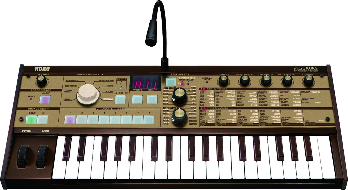 The microkorg gold is available worldwide news audiofanzine.