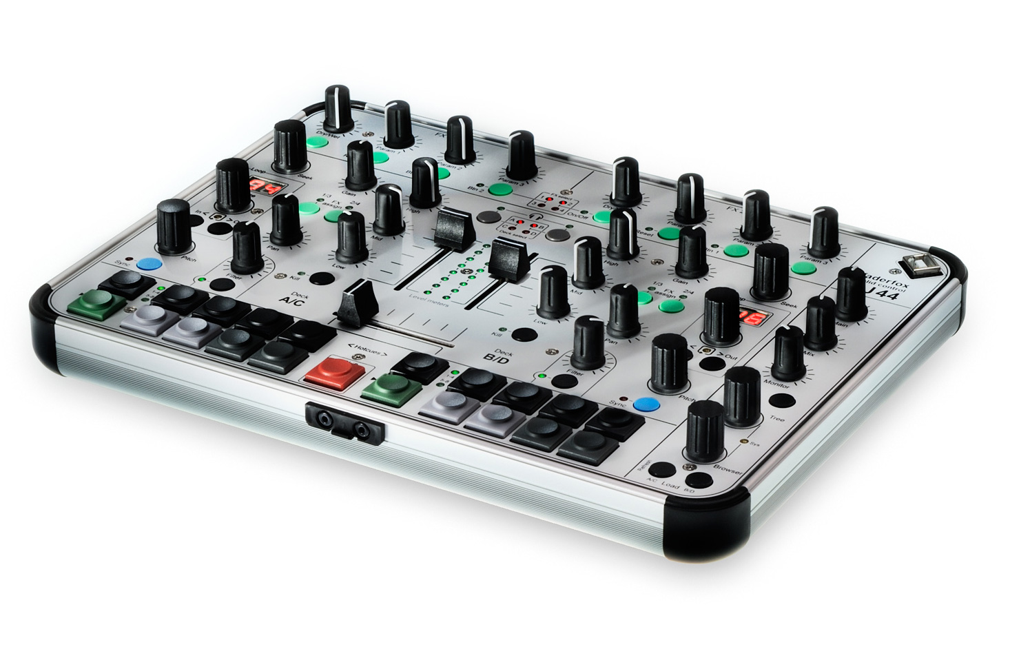 faderfox dj44 midi controller for traktor news audiofanzine. Black Bedroom Furniture Sets. Home Design Ideas