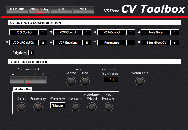 New Driver: Kiss-Box CVToolbox RTP-MIDI