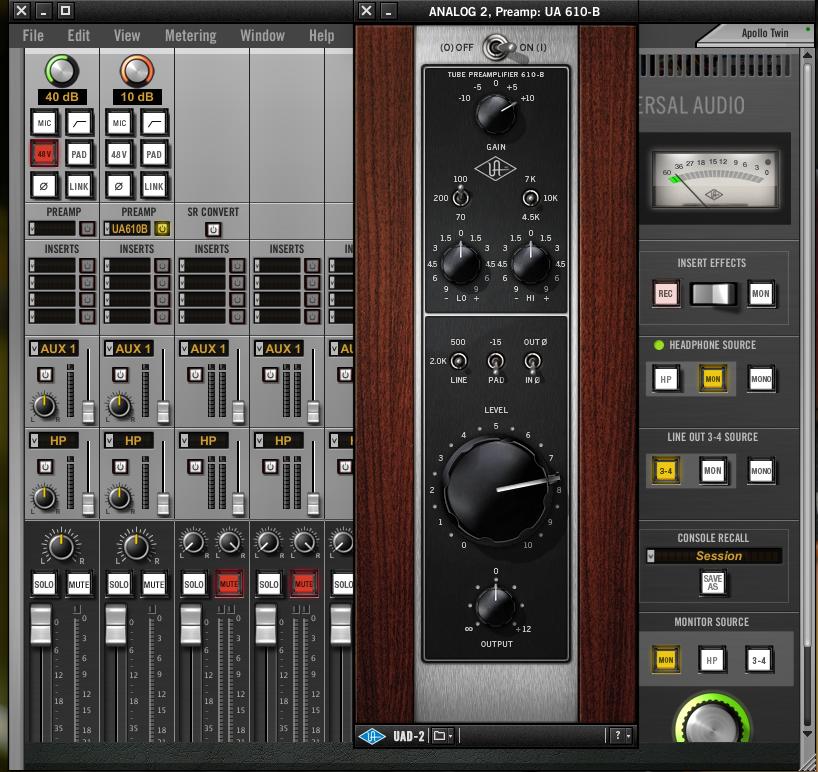 Universal Audio Apollo Twin Review : Twin Sound - Audiofanzine