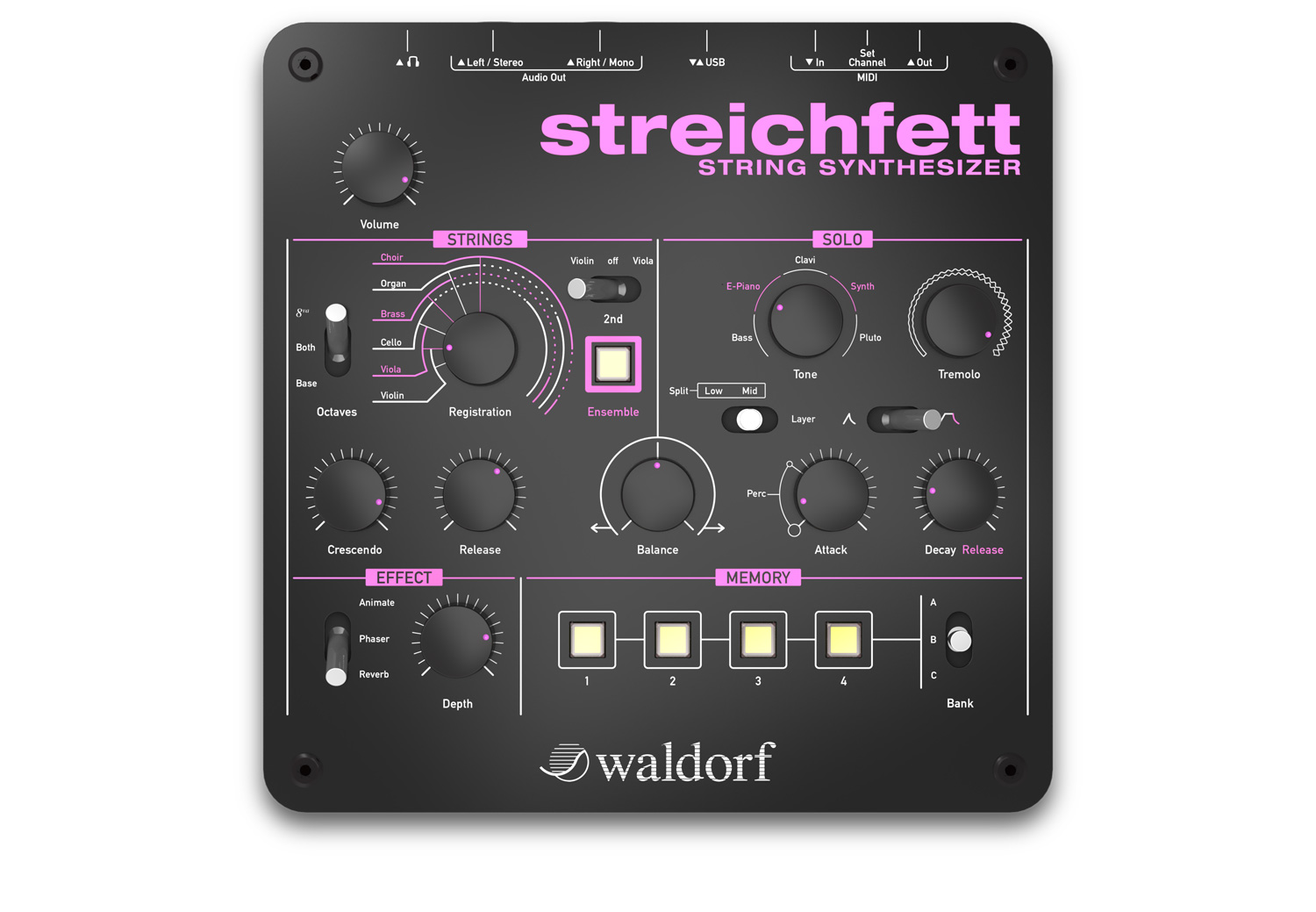 Musikmesse Waldorf Introduces A String Synth News