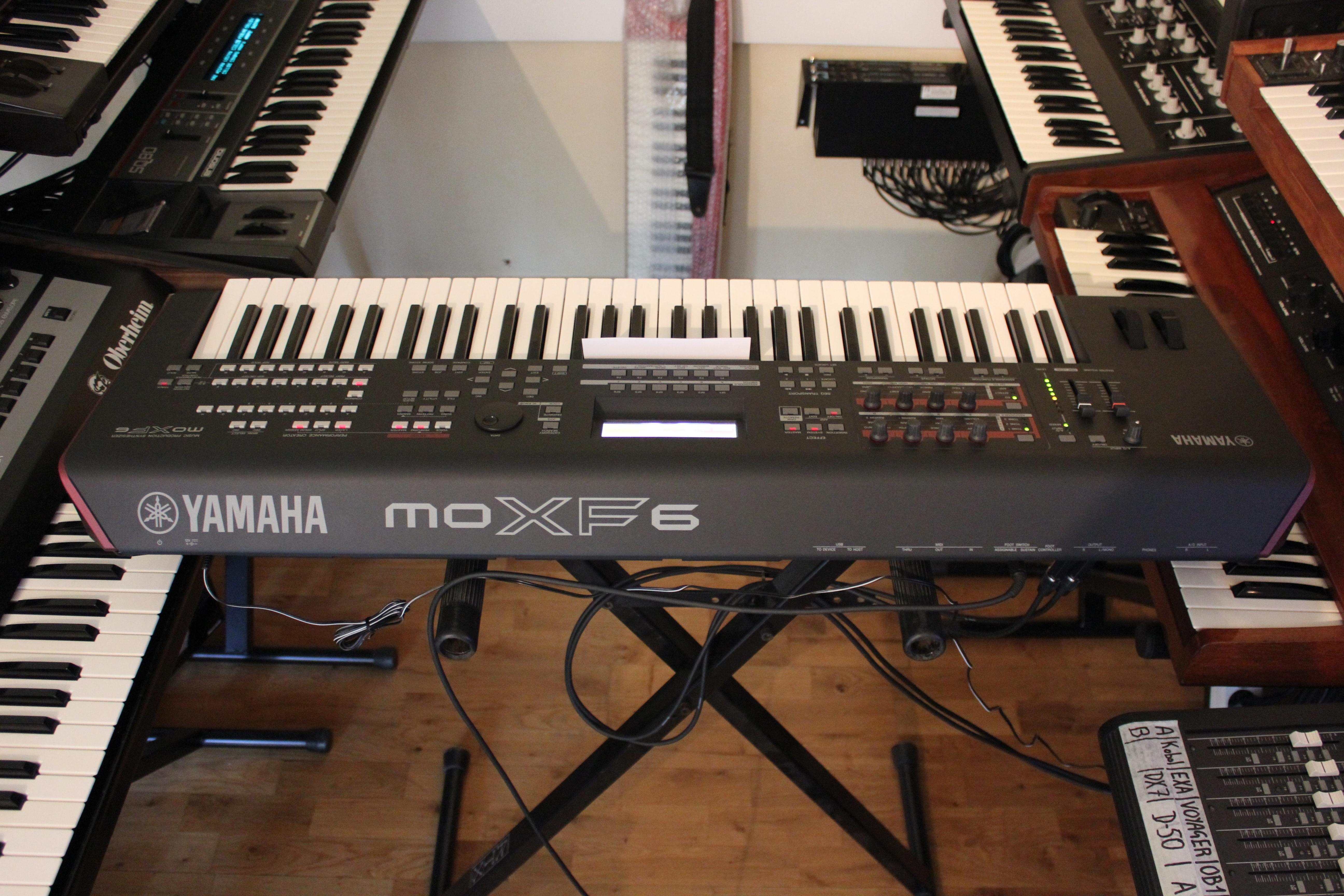 Yamaha MOXF6 Review : Changing of the Guard - Audiofanzine