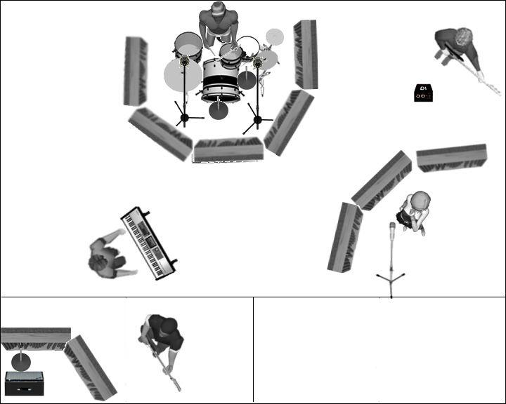 Eviter ou r duire la diaphonie lors de l 39 enregistrement de - Reduire la resonance d une piece ...