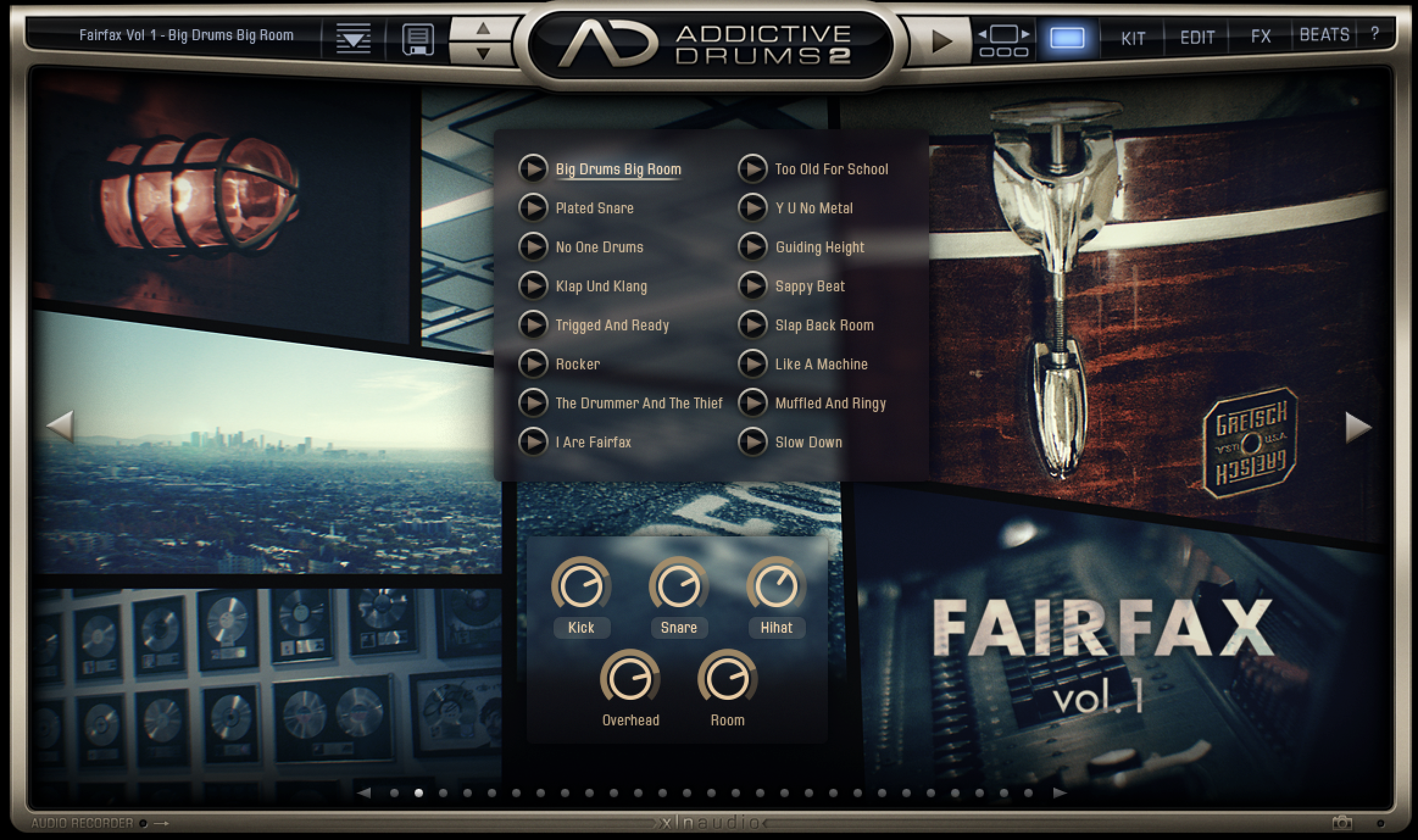 Test du XLN Audio Addictive Drums 2 : XLN double la dose