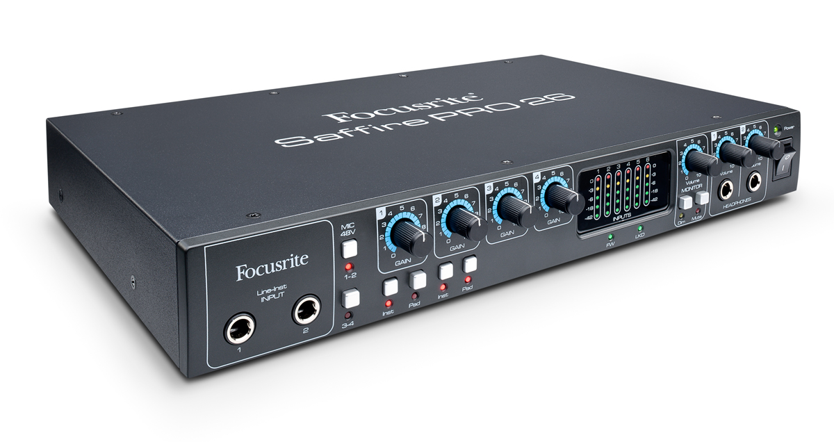 Focusrite introduces the Saffire Pro 26 - Audiofanzine
