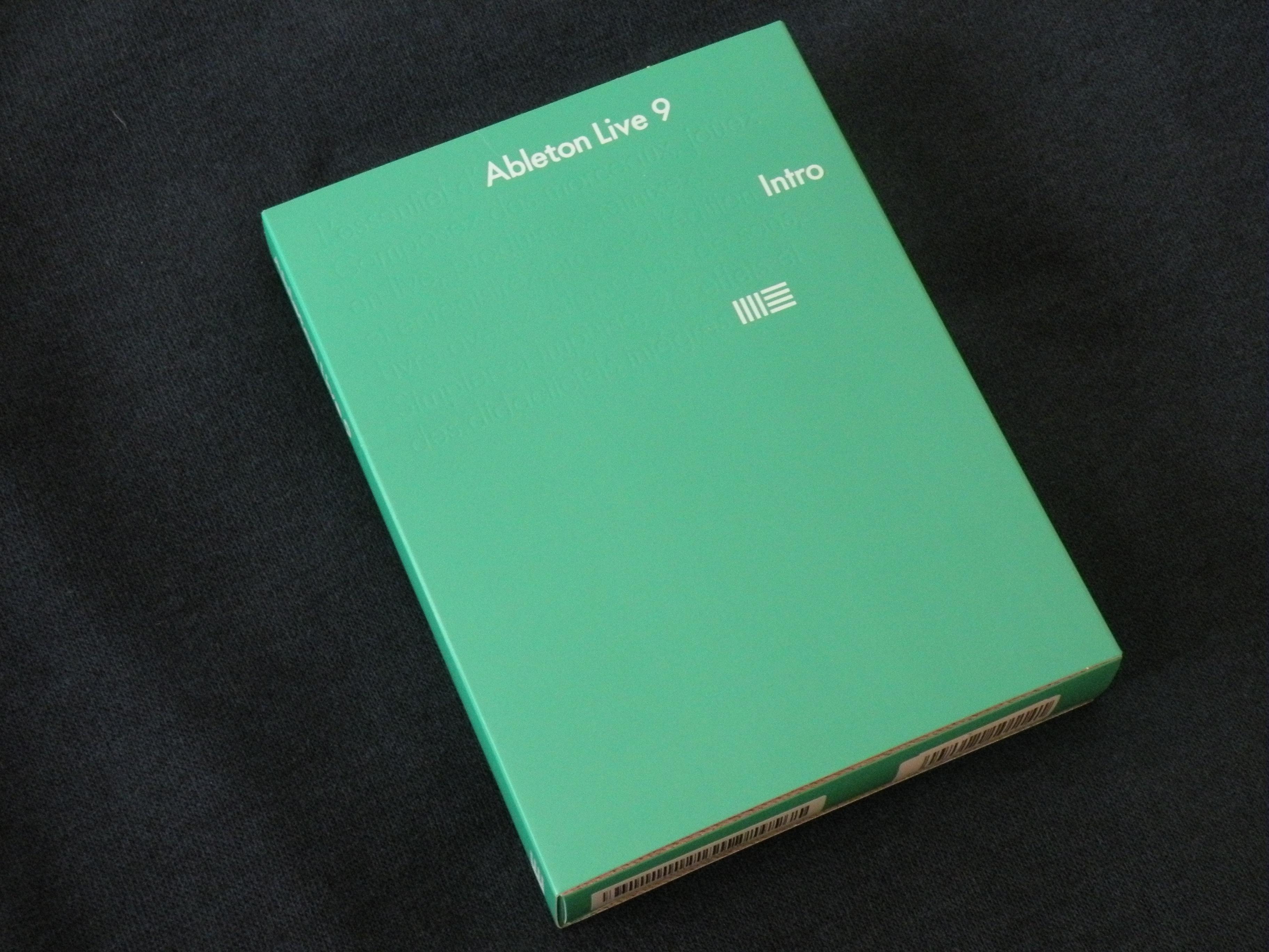 ableton live 9 intro image 929126 audiofanzine. Black Bedroom Furniture Sets. Home Design Ideas