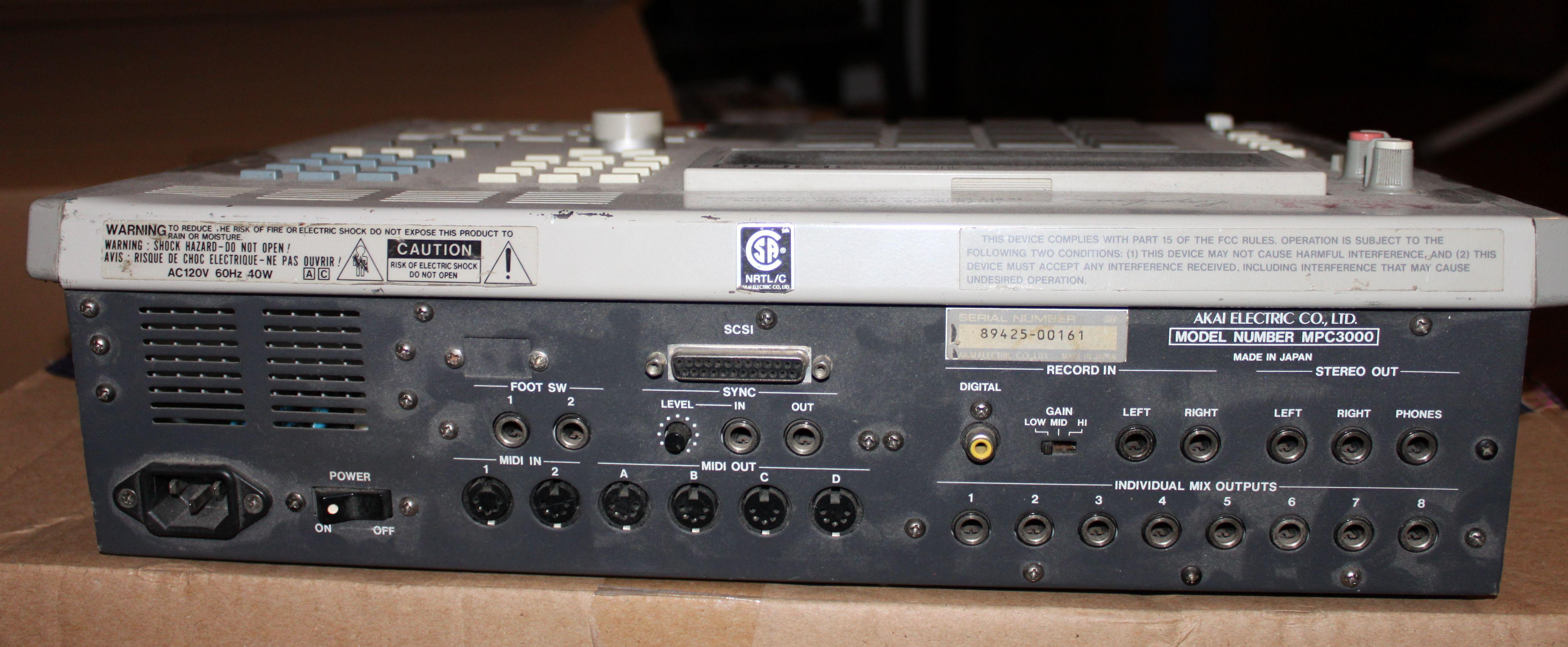 User reviews: Akai MPC3000 - Audiofanzine