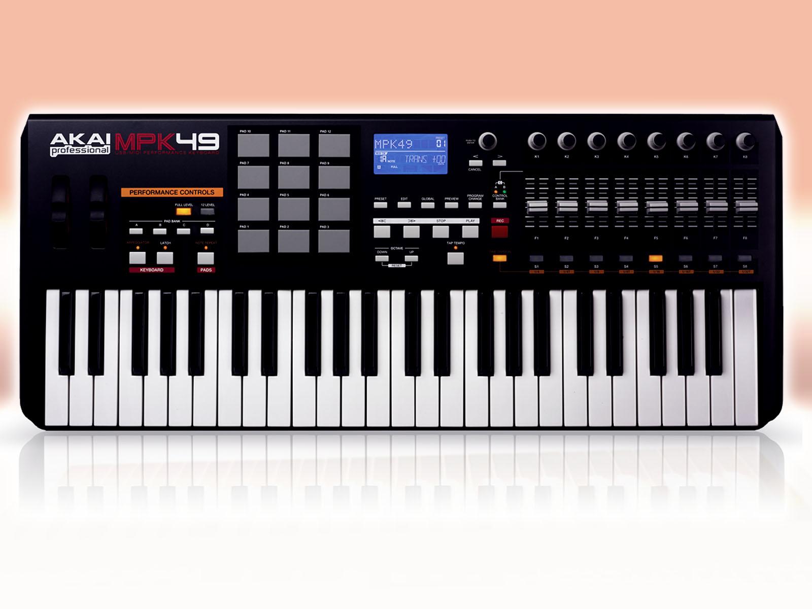 B Best 49 Key MIDI Keyboard Of 2012 Under $300 - Music /b