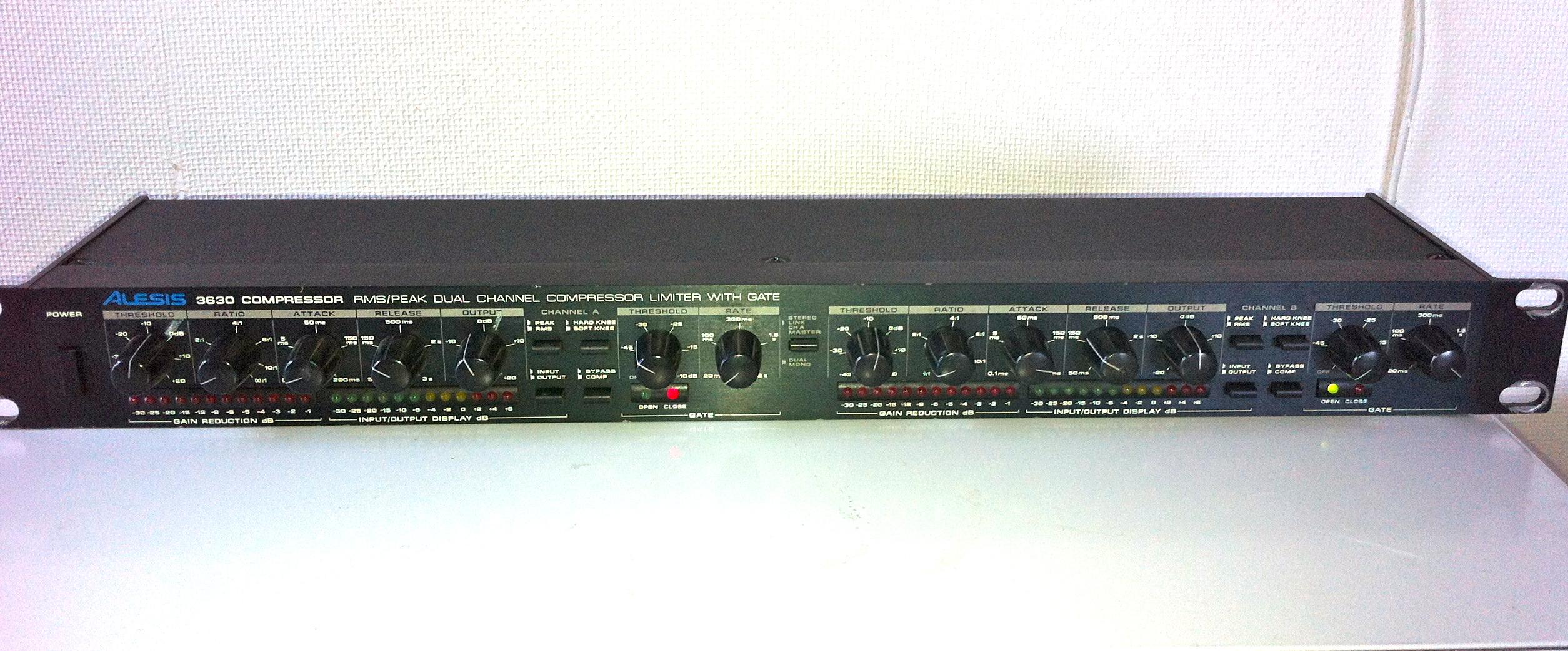 Alesis 3630 Compressor : alesis 3630 compressor image 718354 audiofanzine ~ Hamham.info Haus und Dekorationen