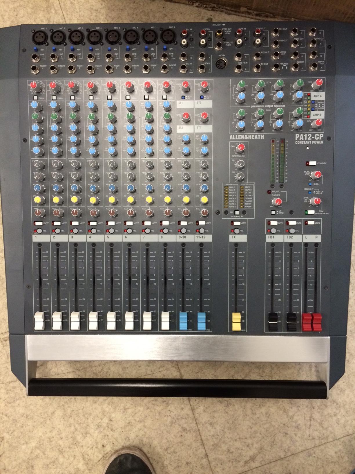 allen heath pa12 cp image 1172148 audiofanzine rh en audiofanzine com